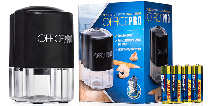 OfficePro Electric Pencil Sharpener