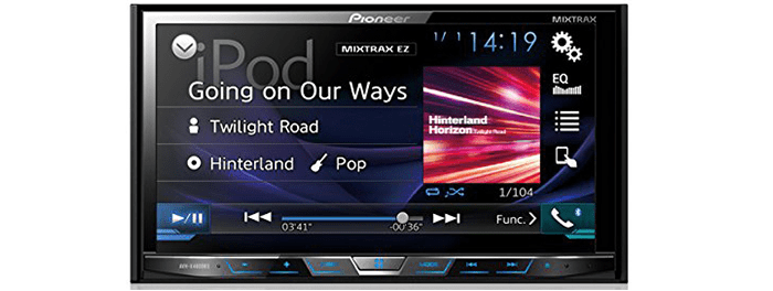"Pioneer AVH-X4800BS 7"" Motorized DVD Receiver"