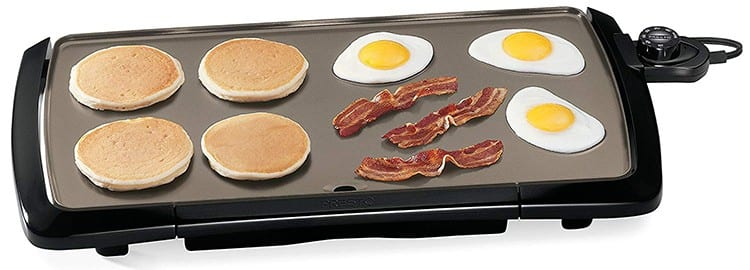 Presto Cool-Touch Electric Ceramic Griddle