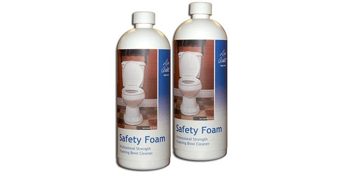 Safety Foam Toilet Bowl Cleaner