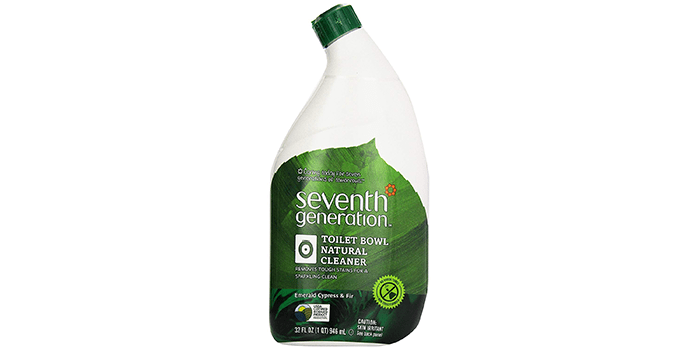 Seventh Generation Toilet Bowl Cleaner Emerald Cypress and Fir
