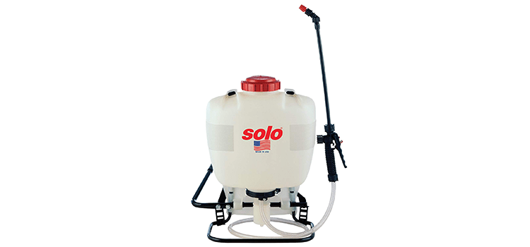 Solo 4-Gallon Professional Piston Backpack Sprayer