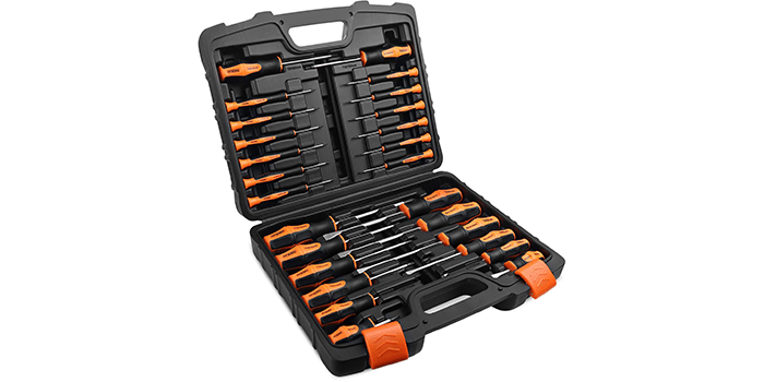 TACKLIFE 26PCS Magnetic Screwdriver Set with Case
