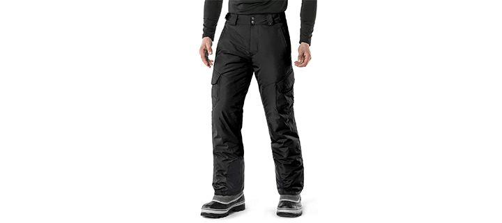 TSLA Men's Rip-Stop Snow Pants