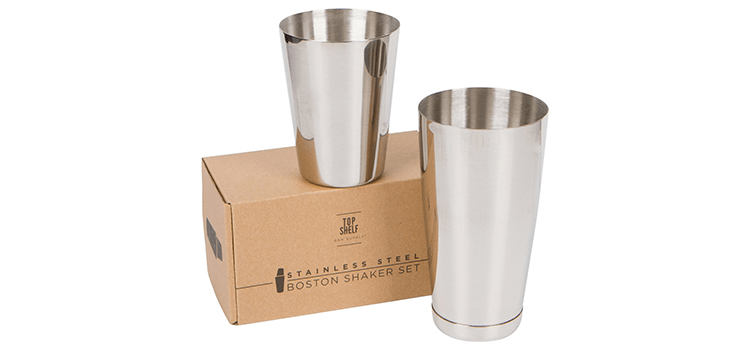 Top Shelf Bar Supply Premium Cocktail Shaker Set