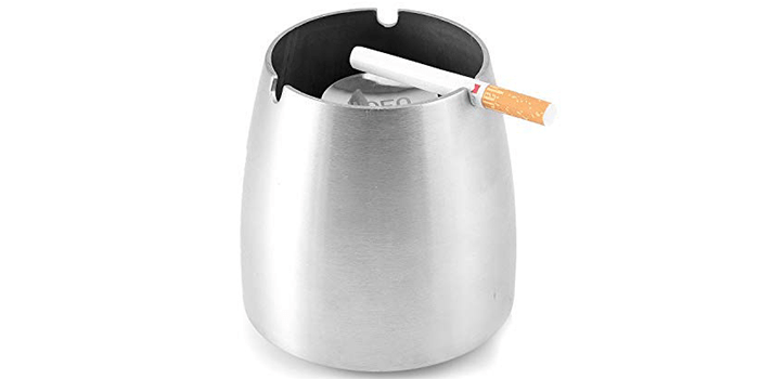 WOFO Outside Ashtray Smokeless Windproof Ashtray