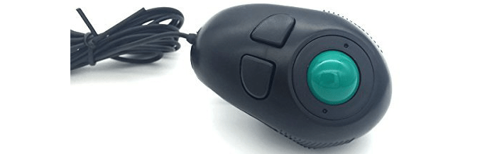 YUMQUA Y-01 Portable Hand Held 4D USB Wired Trackball Mouse