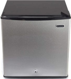 lockable mini fridge